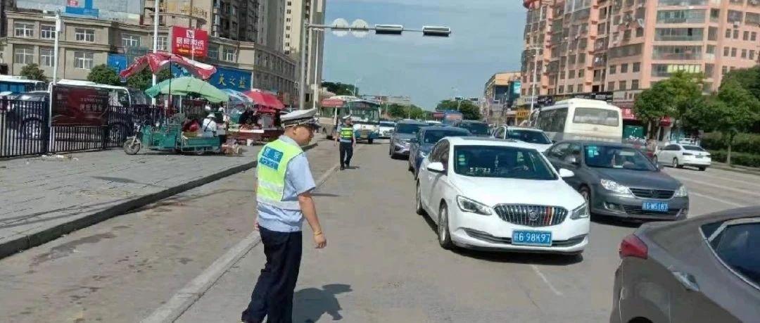 都昌交警不打烊,全力做好端午假期交通安保工作
