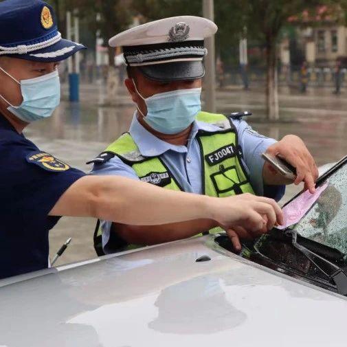 都昌交警积极开展占用、堵塞消防通道专项整治行动